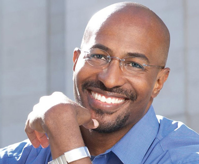 Van Jones is the president and co-founder of Rebuild the Dream