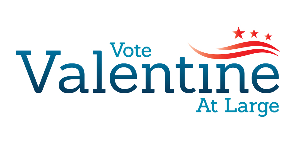 Vote Valentine At - Large