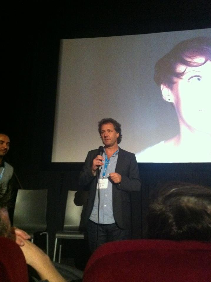 Fredrik Gertten at world premiere of BIG BOYS GONE BANANAS!*