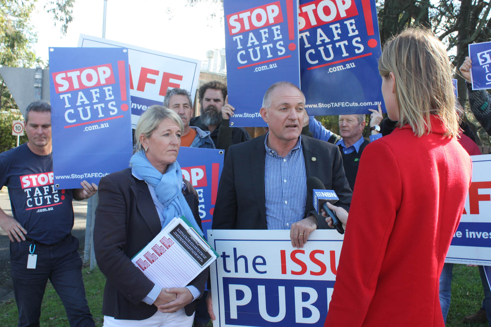 SKILLS MINISTER REFUSES TO RULE OUT SALE OF BELMONT TAFE