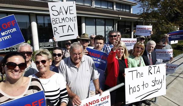 Liberals Axe Belmont Motor Registry