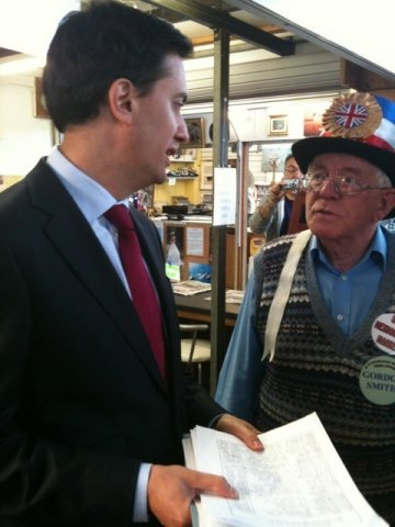 Ed Miliband Mexborough