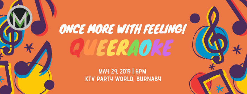 Event Graphic Once More With Feeling Queeraoke