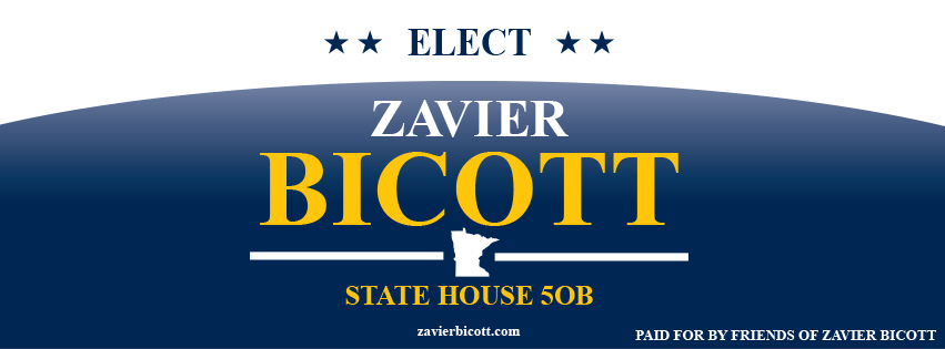 Zavier Bicott for MN State House 50B