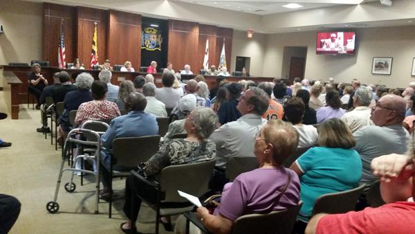 Public forum at Laurel Municipal Center