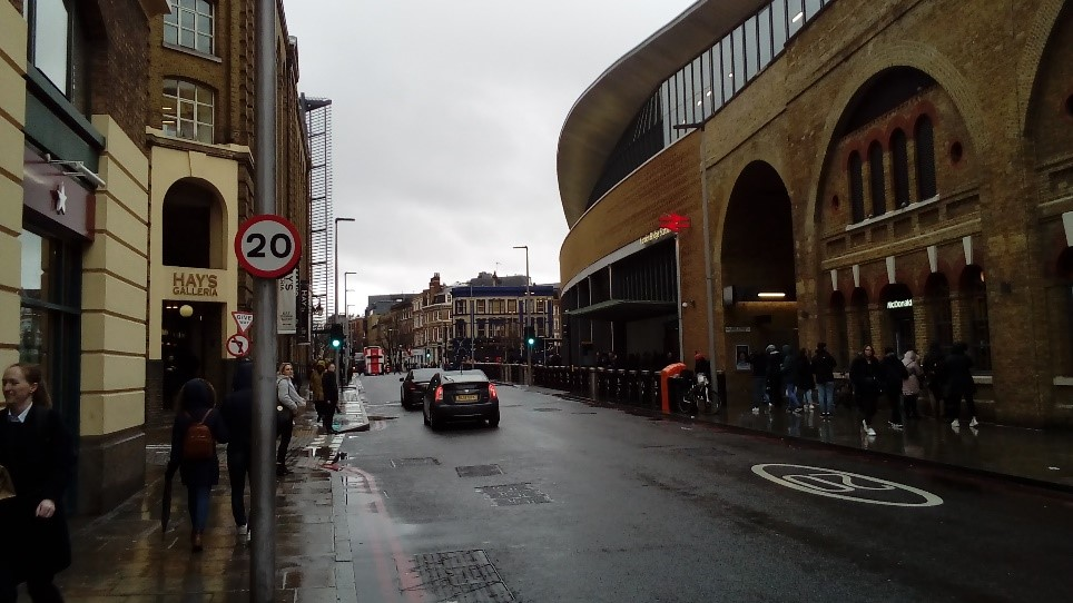 20mph limits on Tooley Street – March 2020