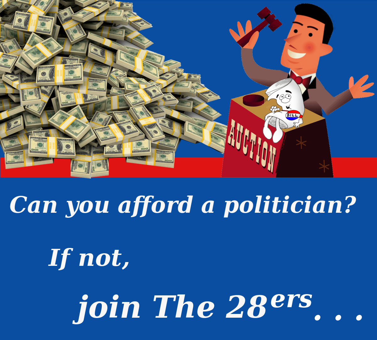 can you afford a politician?
