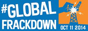 #Global Frackdown 2014