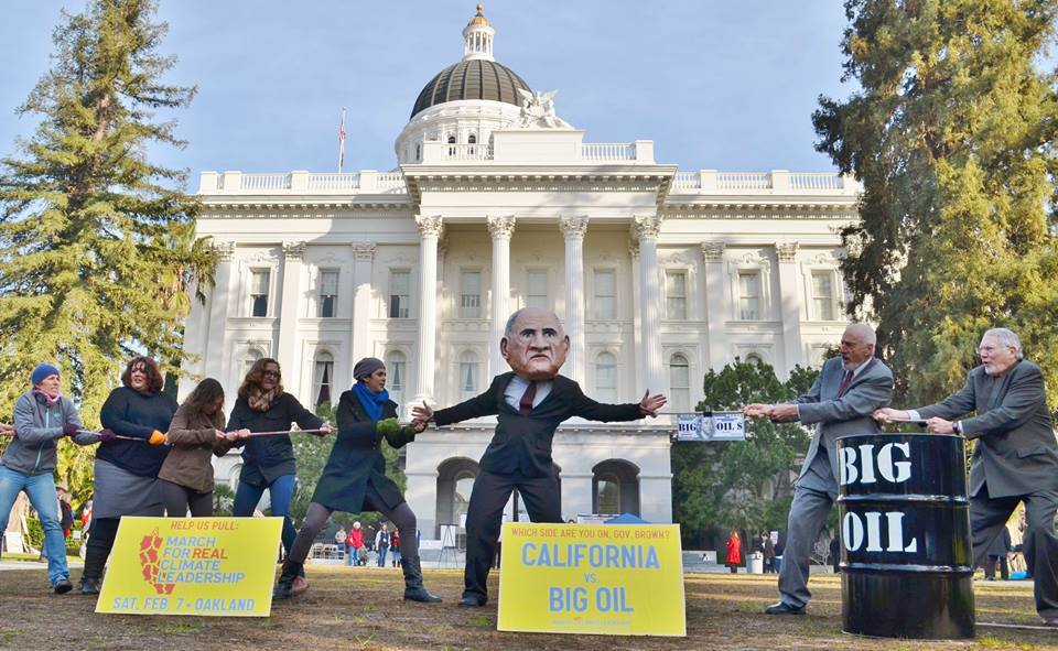 Sacramento anti-fracking rally