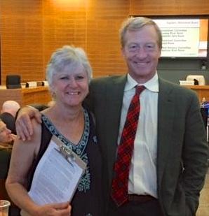 Jane Vosburg and Tom Steyer