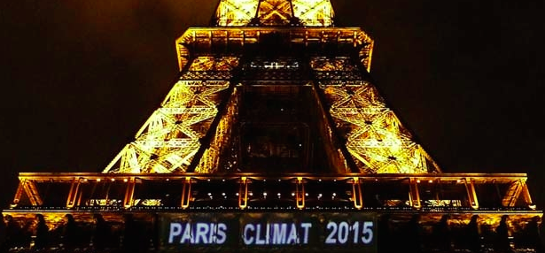 COP21 Eiffel tower