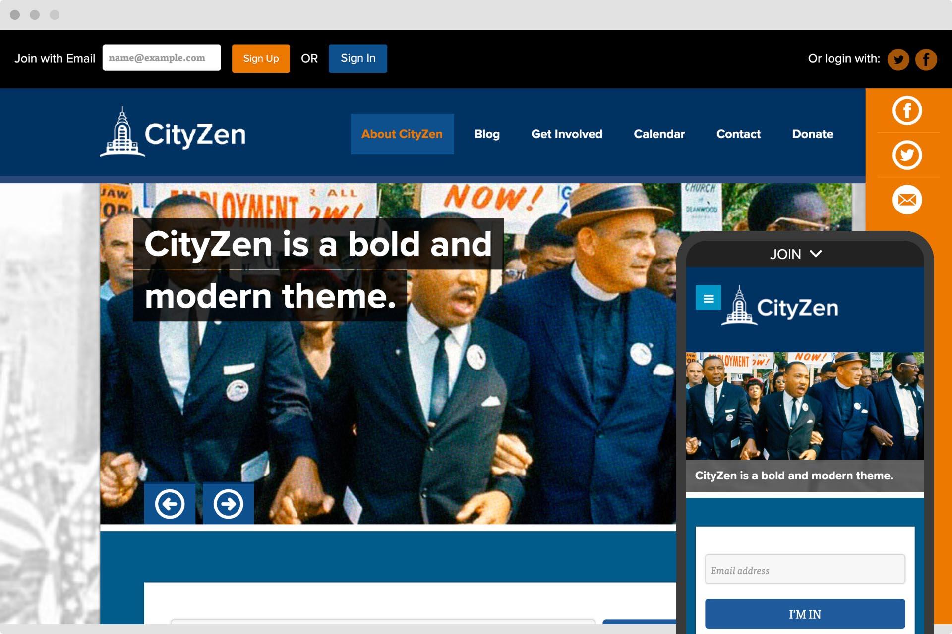 CityZen theme