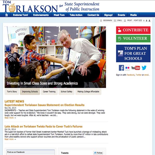 Tom Torlakson