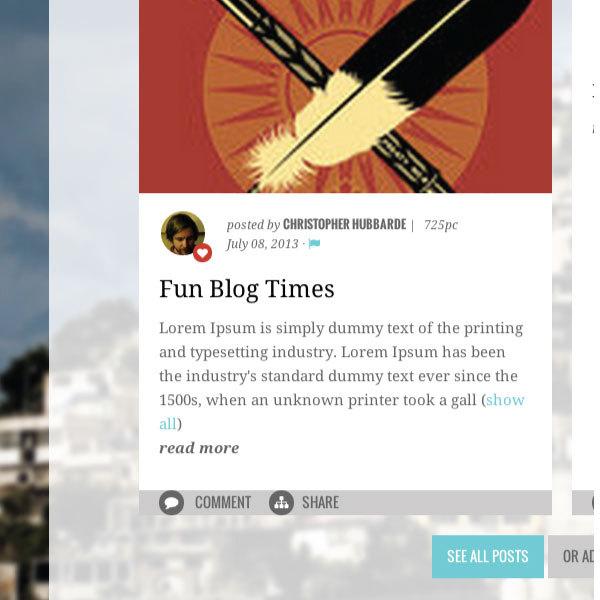 Publish theme detail, cStreet Campaigns