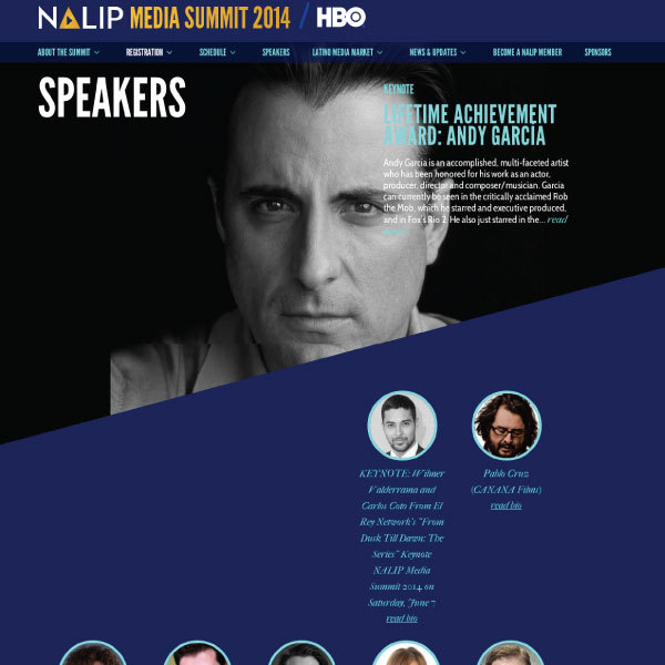 NALIP Media Summit, by cStreet Campaigns
