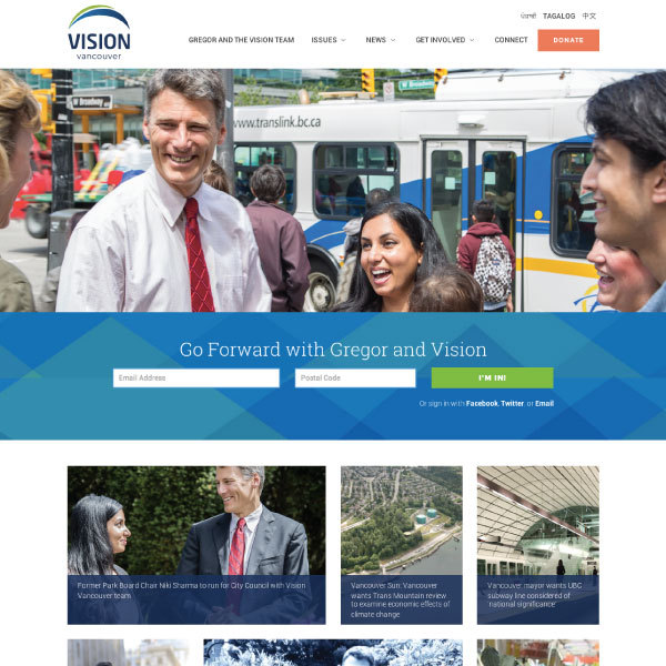 Vision Vancouver beta, cStreet Campaigns