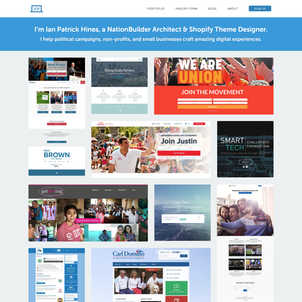 Ian Patrick Hines' Homepage