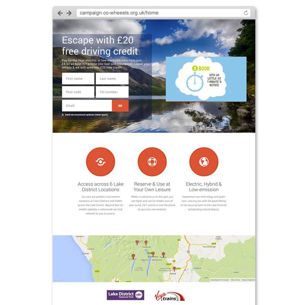 Landing Page - Brand Response