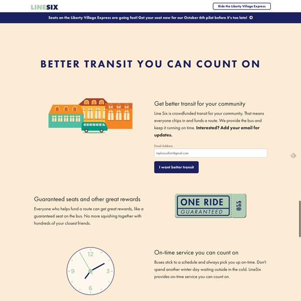 LineSix Crowdfunding Site