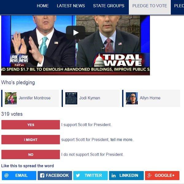 Vote Pledge w/ RRSSB