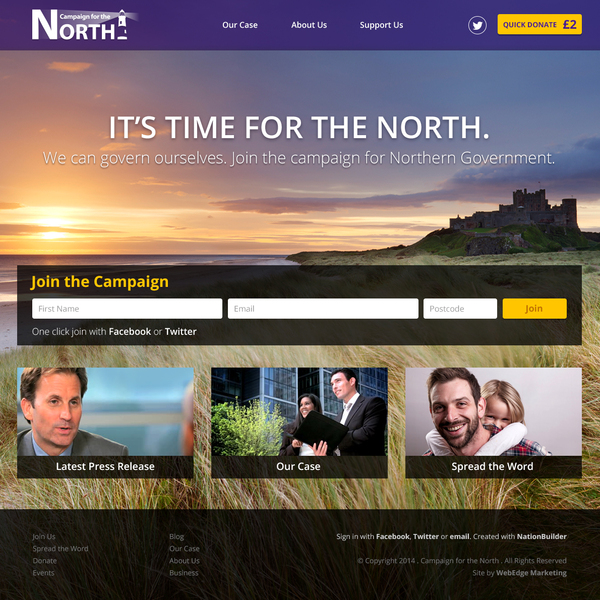 Home – Campaign for the North