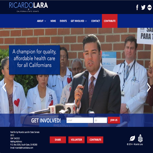 Ricardo Lara for State Senate