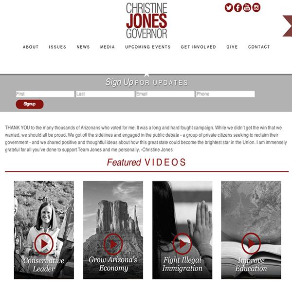 Christine Jones for Governor
