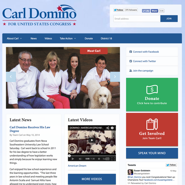 Carl Domino for Congress