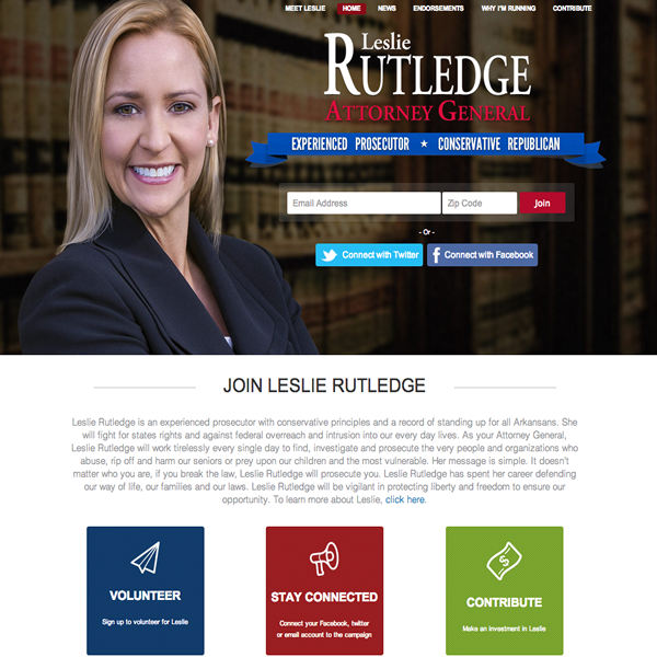 Leslie Rutledge for Attorney General
