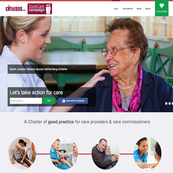 Citizens UK Social Care Campaign