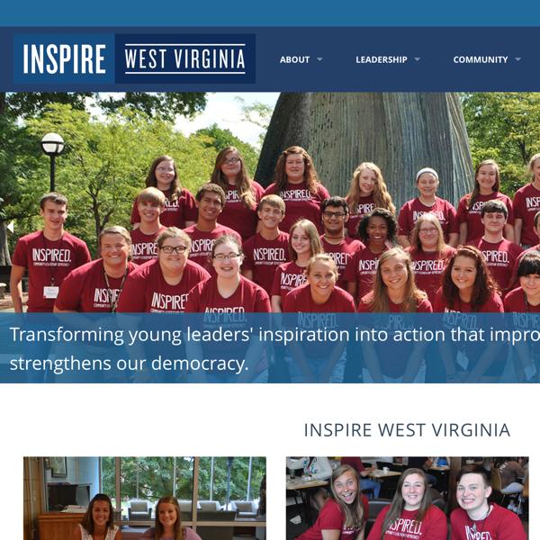 Inspire WV Homepage Detail