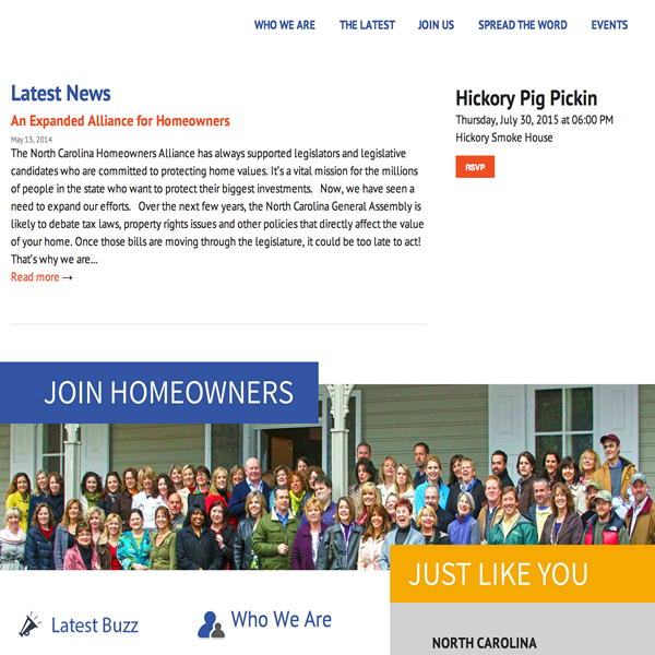 North Carolina Homeowners Alliance