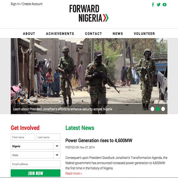 Forward Nigeria - Presidential Candidate