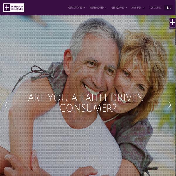 Faith Driven Consumer