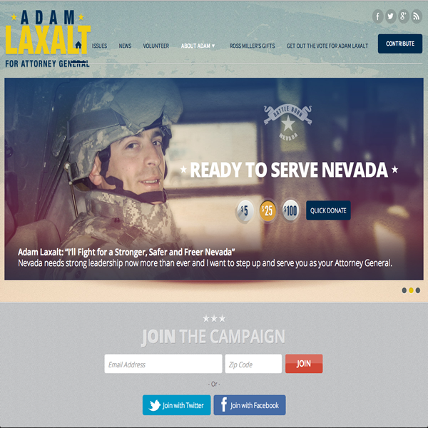 Adam Laxalt for Attorney General