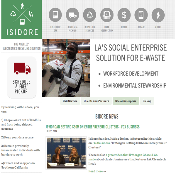 Isidore Electronics Recycling