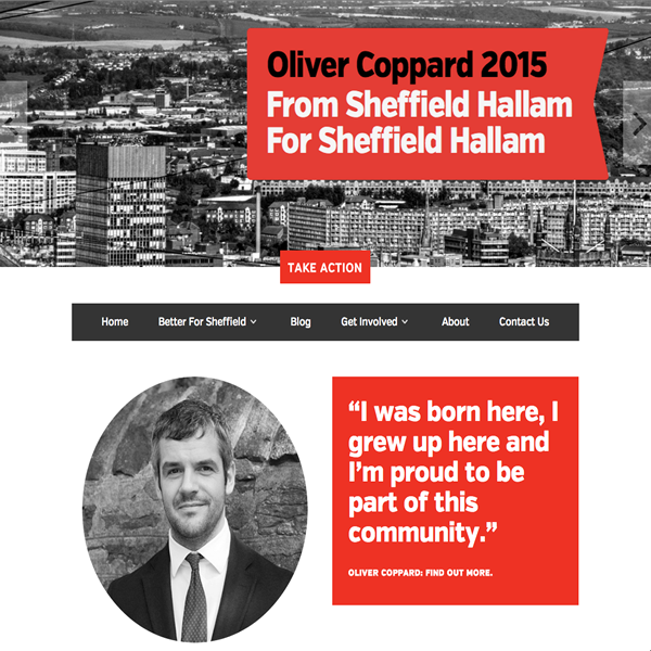 Oliver Coppard: Better for Sheffield