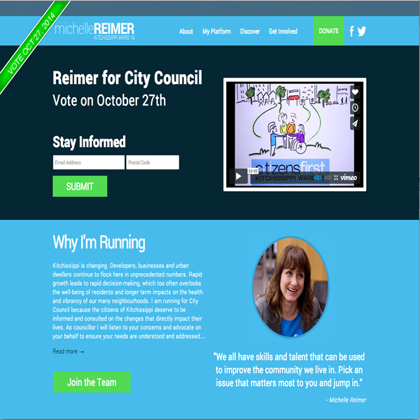 Michelle Reimer for City Council