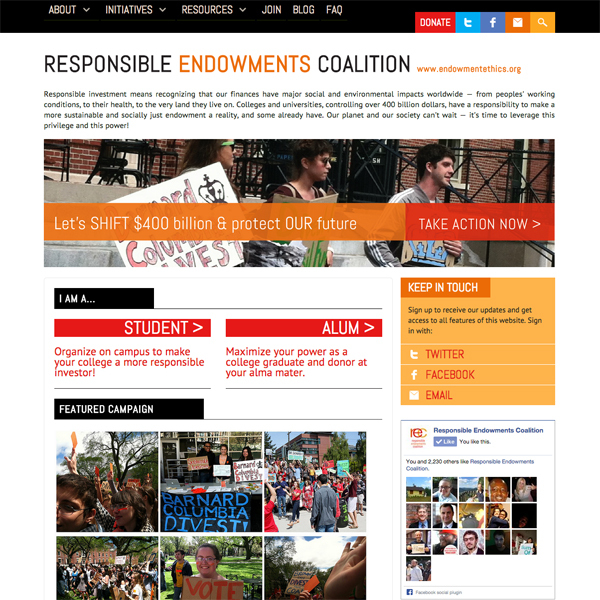 Responsible Endowments Coalition