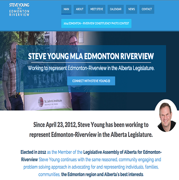 Steve Young MLA Edmonton Riverview