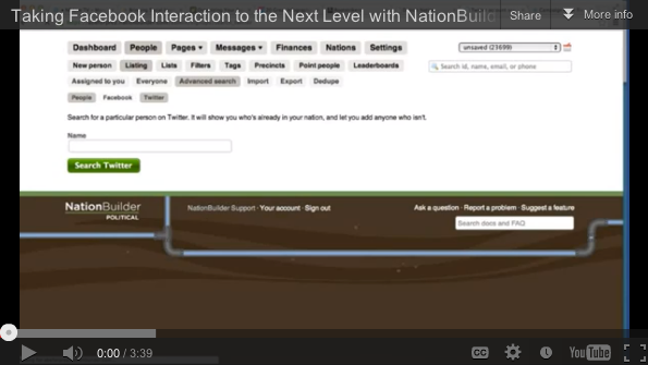 Use NationBuilder to get more value out of your Facebook
