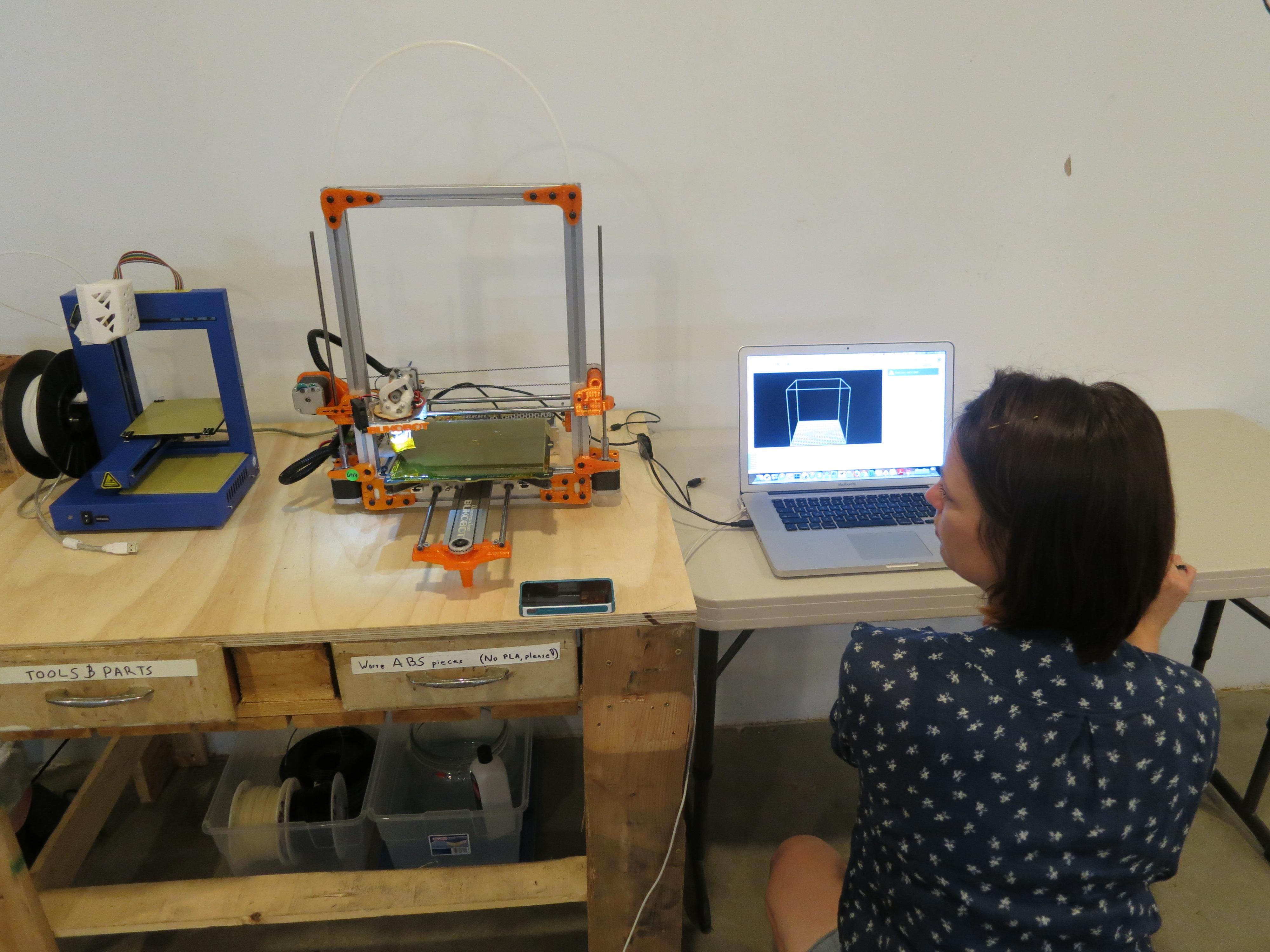 Tara 3D printing.