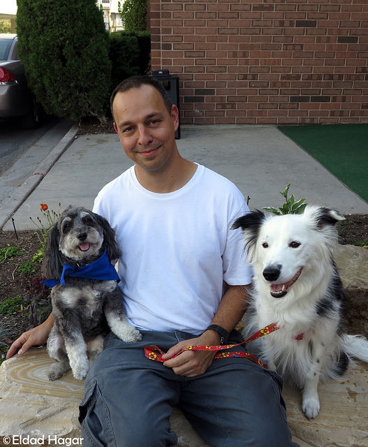 Eldad Hager of Hope for Paws