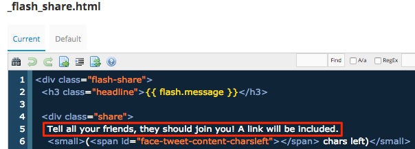 flash share html file
