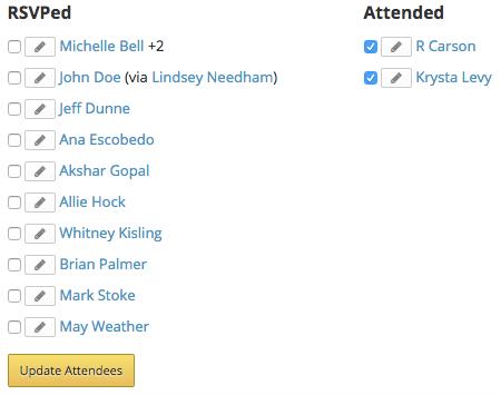 Mark attended
