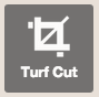 turf cutter off
