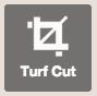 turf cutter off