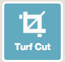 turf cutter on