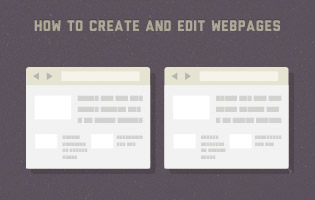 create webpages