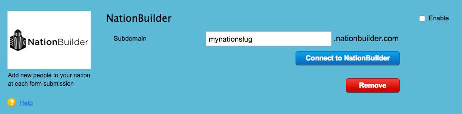 123 form settings slug